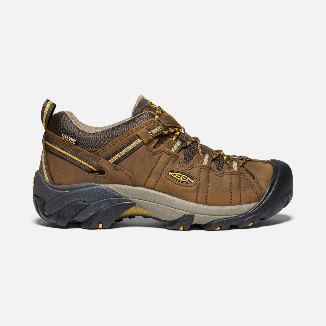 Men's Targhee II Wide in Cascade Brown/Golden Yellow - large view.