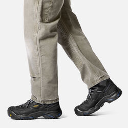 Men's Braddock Mid Waterproof (Soft Toe) in  - on-body view.