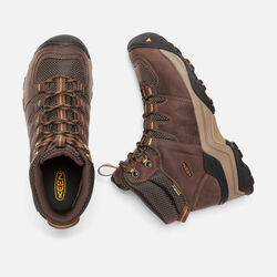 Men's Gypsum II Waterproof Boot in Coffee Bean/Bronze Mist - small view.