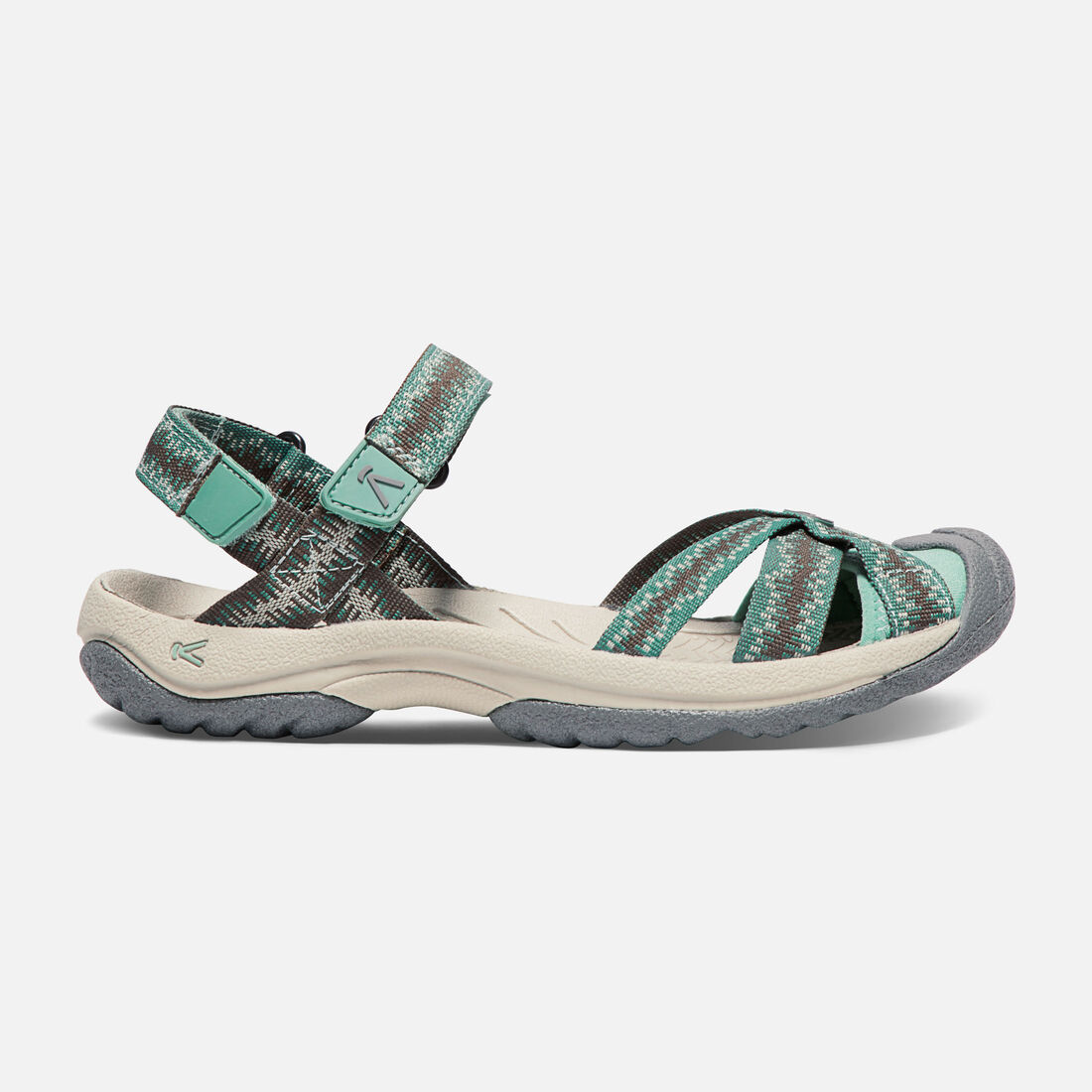 Women's BALI STRAP in Canteen/Malachite - large view.