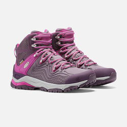 Women's APhlex Waterproof Boot in Plum/Shark - small view.