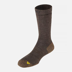 Men's North Country Lite Crew in Black Olive / Loden - small view.
