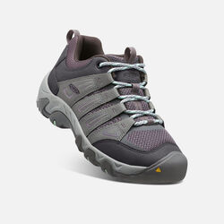 Women's Oakridge in Gray/Clear Aqua - small view.