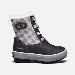 Big Kids' Elsa Boot in Black/Houndstooth - small view.