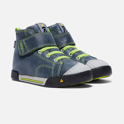 Little Kids' Encanto Scout High Top in Black/Macaw - small view.