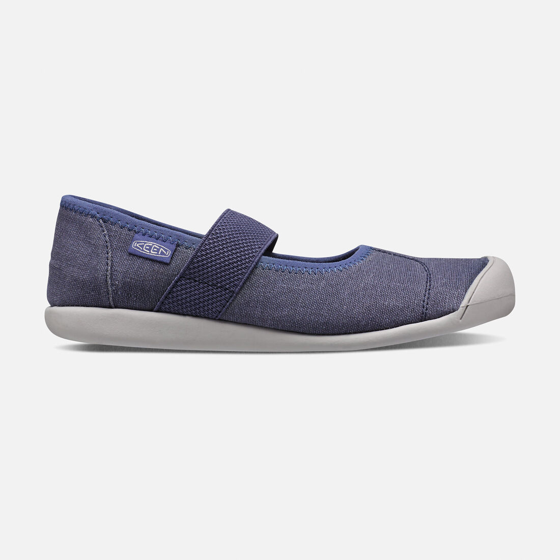 Women's Sienna Canvas Mary Jane in Crown Blue - large view.