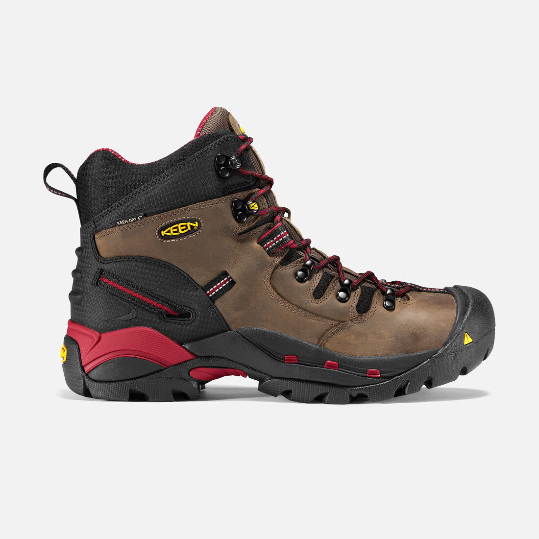 Men's Pittsburgh (Steel Toe) in Bison - large view.