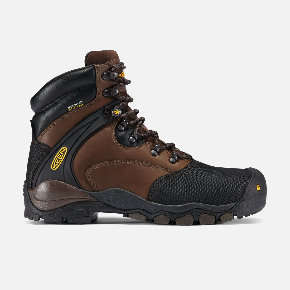 "Men's Louisville 6"" (Steel Toe) in Slate Black - large view."