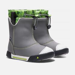 Little Kids' Encanto Waterproof Boot in Gargoyle/Greenery - small view.