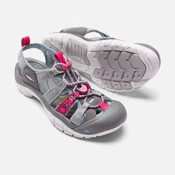 Women's NEWPORT EVO H2 in Neutral Gray/Raspberry - small view.