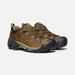 Men's Targhee II Wide in Cascade Brown/Golden Yellow - small view.