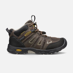 Big Kids' Oakridge Waterproof Boot in Cascade Brown/Brindle - small view.