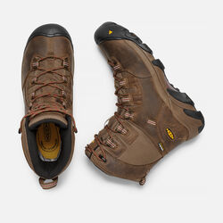 "Men's DETROIT 8"" Waterproof (Soft Toe) in Dark Earth/Burnt Henna - small view."
