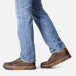Men's Destin Slip-On ESD (Steel Toe) in  - on-body view.