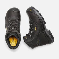 """Men's Leavenworth Internal Met 6"""" (Steel Toe) in Black - small view."""