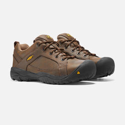 Men's Mesa ESD (Steel Toe) in Cascade Brown/Forest Night - small view.