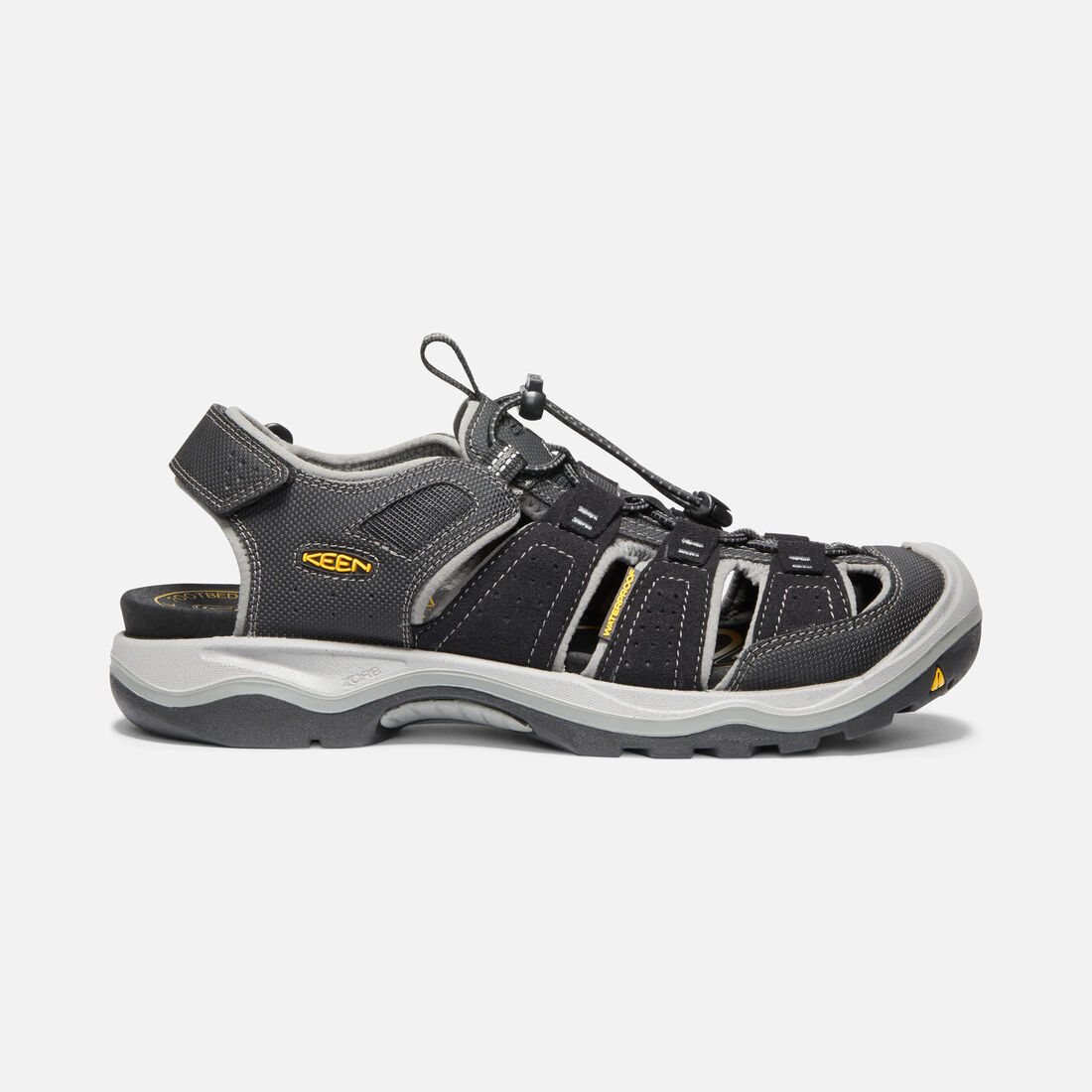 Men's Rialto H2 in Black/Gargoyle - large view.