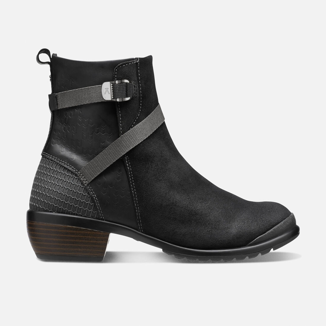 Women's Morrison Mid in Black/Black - large view.