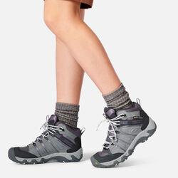 Women's Oakridge Waterproof Boot in  - on-body view.