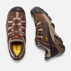 Men's DETROIT LOW INTERNAL MET (Steel Toe) in Cascade Brown/Bossa Nova - small view.