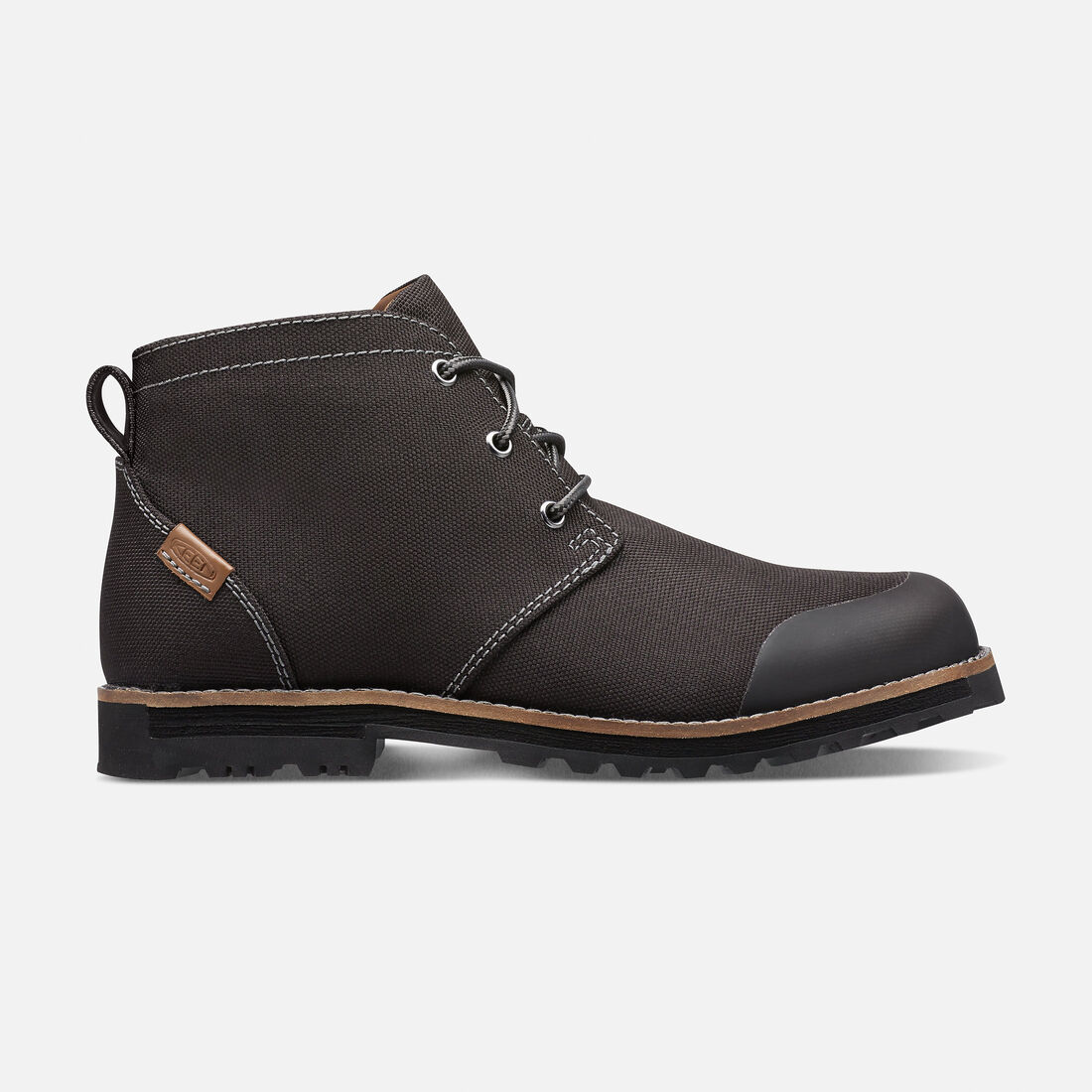 Men's THE 59 CHUKKA in Black - large view.