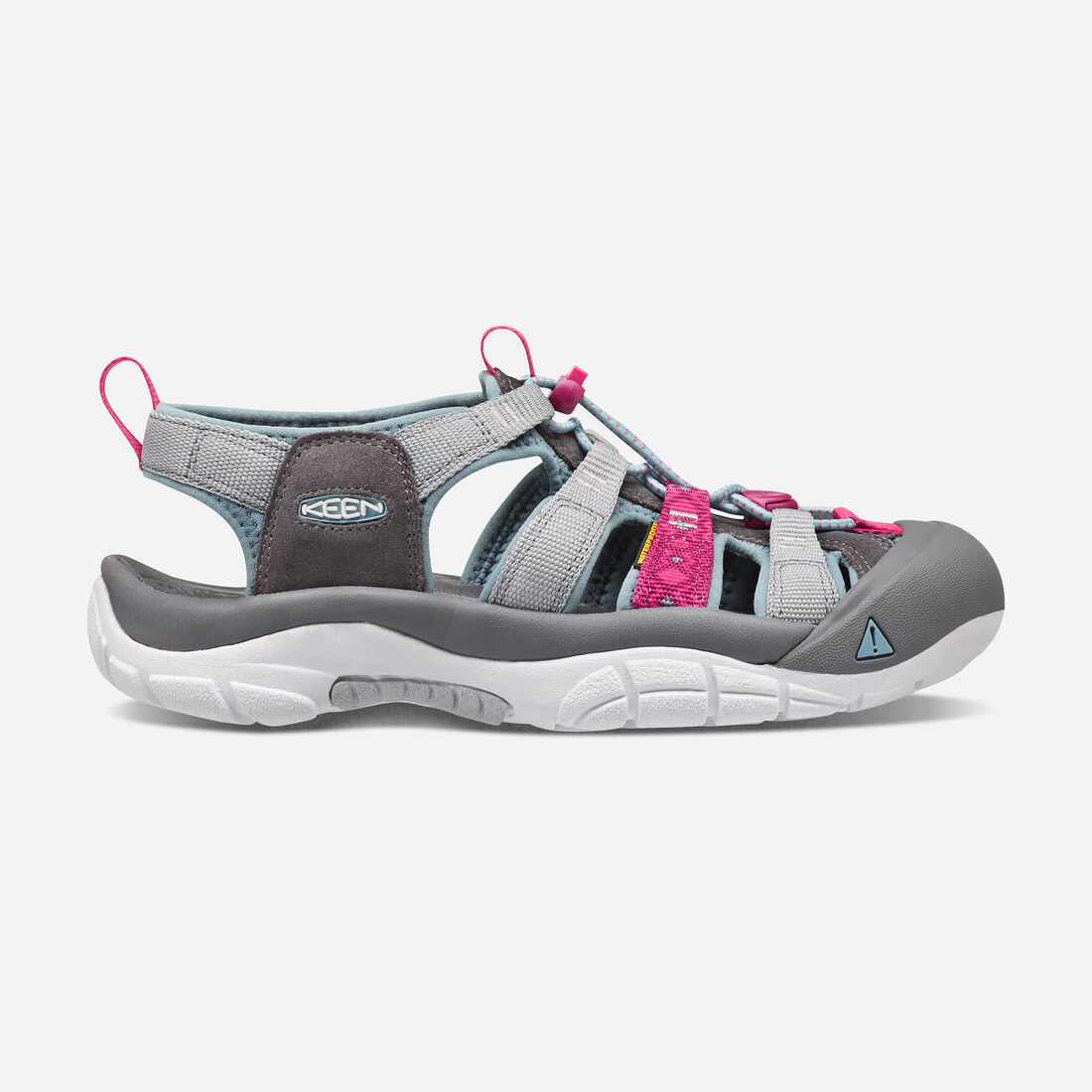 Women's NEWPORT EVO H2 in Neutral Gray/Raspberry - large view.