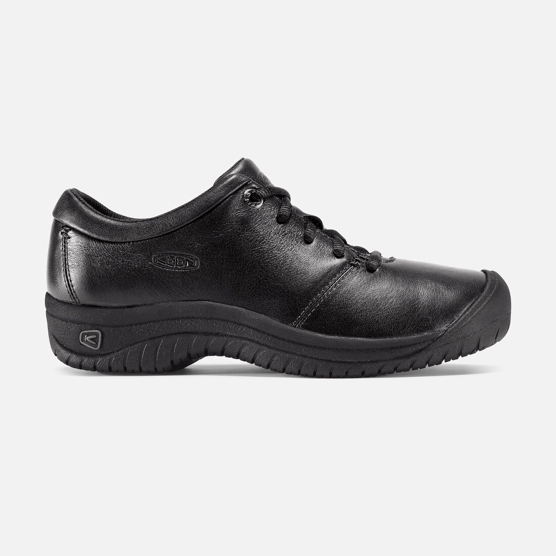 Women's PTC Oxford in Black - large view.
