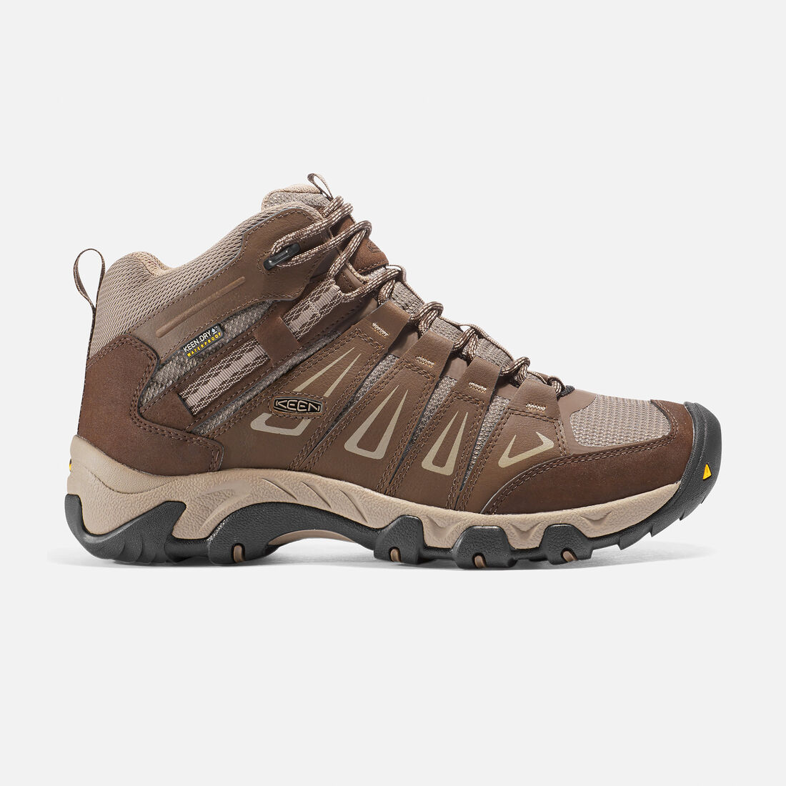 Men's Oakridge Waterproof Boot in Cascade/Brindle - large view.