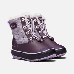 Little Kids' Elsa Boot in Plum/Pastel Lilac - small view.
