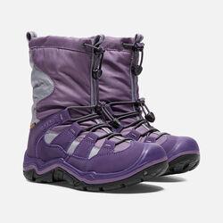 Little Kids' Winterport II Waterproof in Purple Plumeria/Alloy - small view.