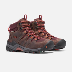 Women's Gypsum II Waterproof Boot in Cocoa/Tiger Lilly - small view.
