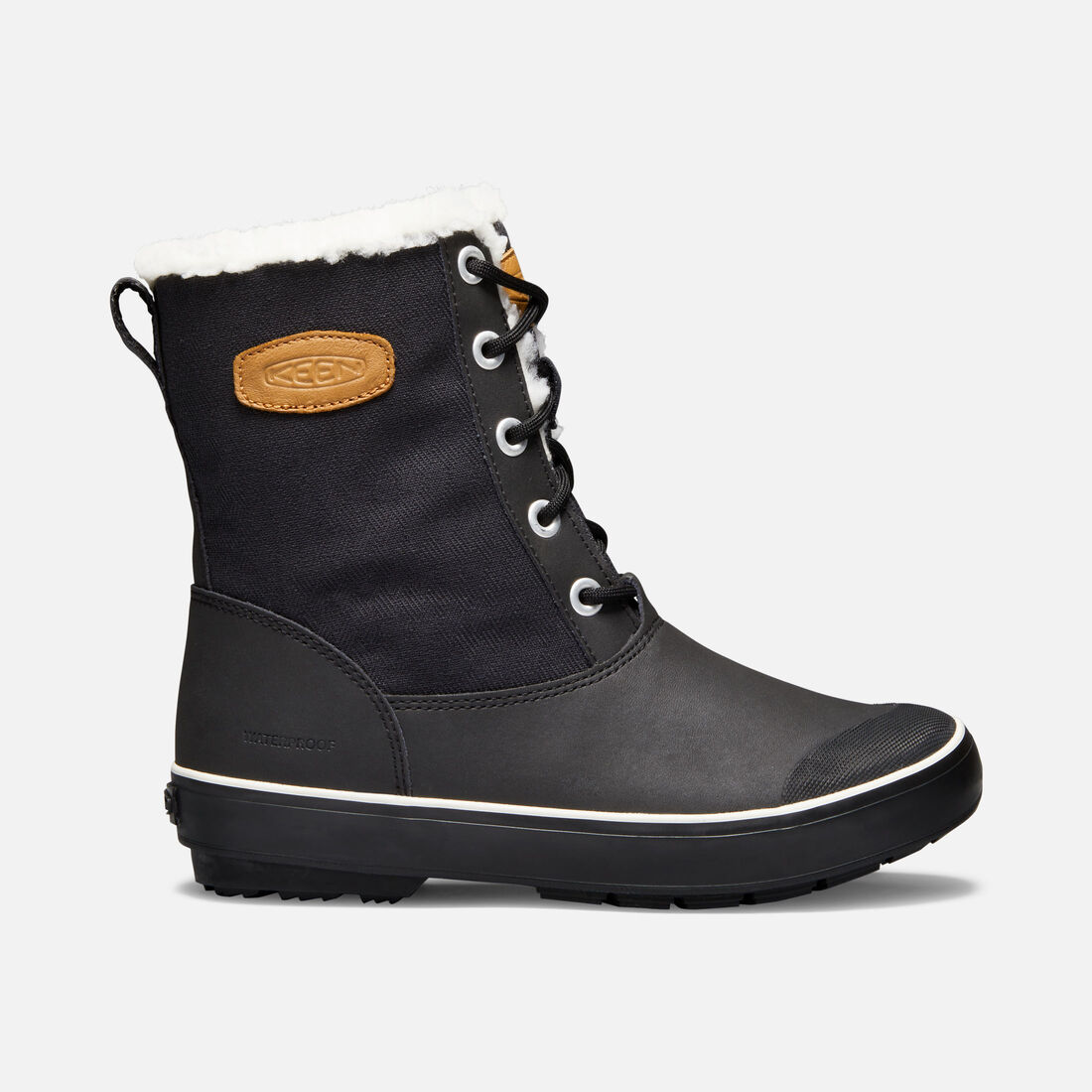 Women's Elsa Boot in Black - large view.