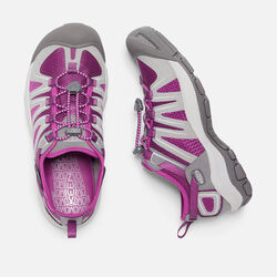 Women's MCKENZIE II in Neutral Gray/Dark Purple - small view.