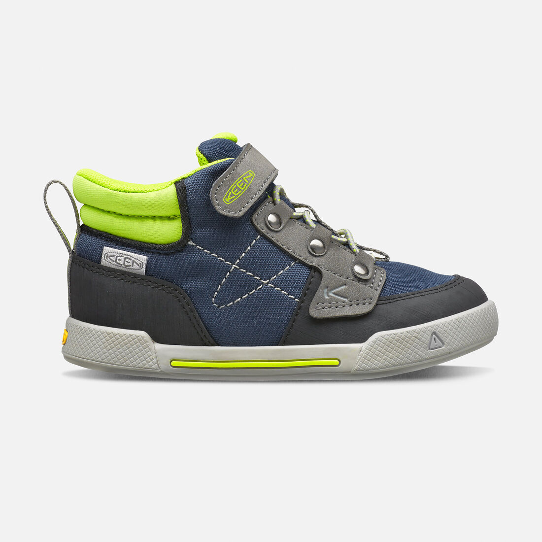 Little Kids' Encanto Wesley High Top in Dress Blues/Macaw - large view.