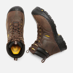 Men's Warren Waterproof (Steel Toe) in Cascade Brown - small view.