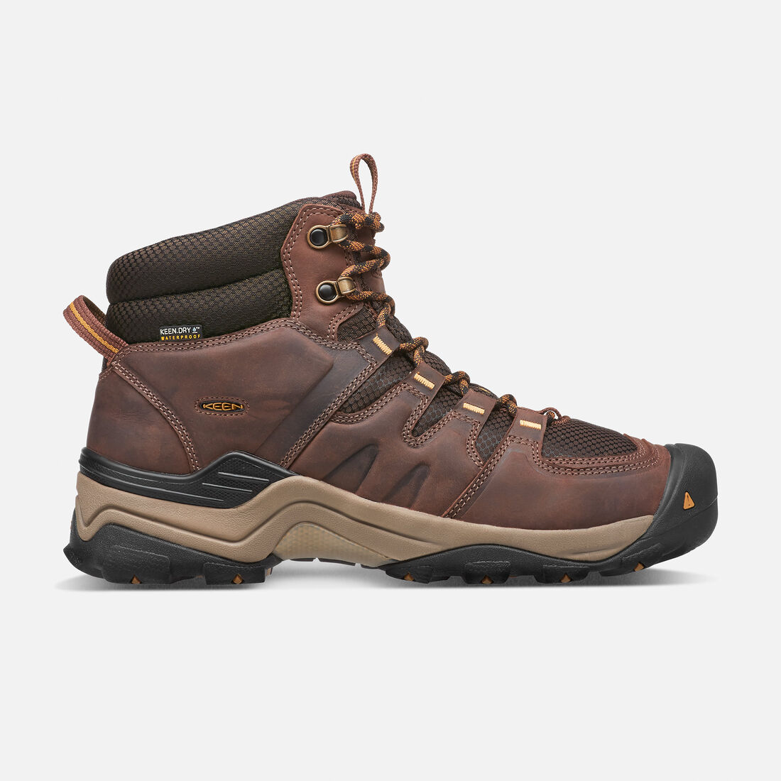 Men's Gypsum II Waterproof Boot in Coffee Bean/Bronze Mist - large view.