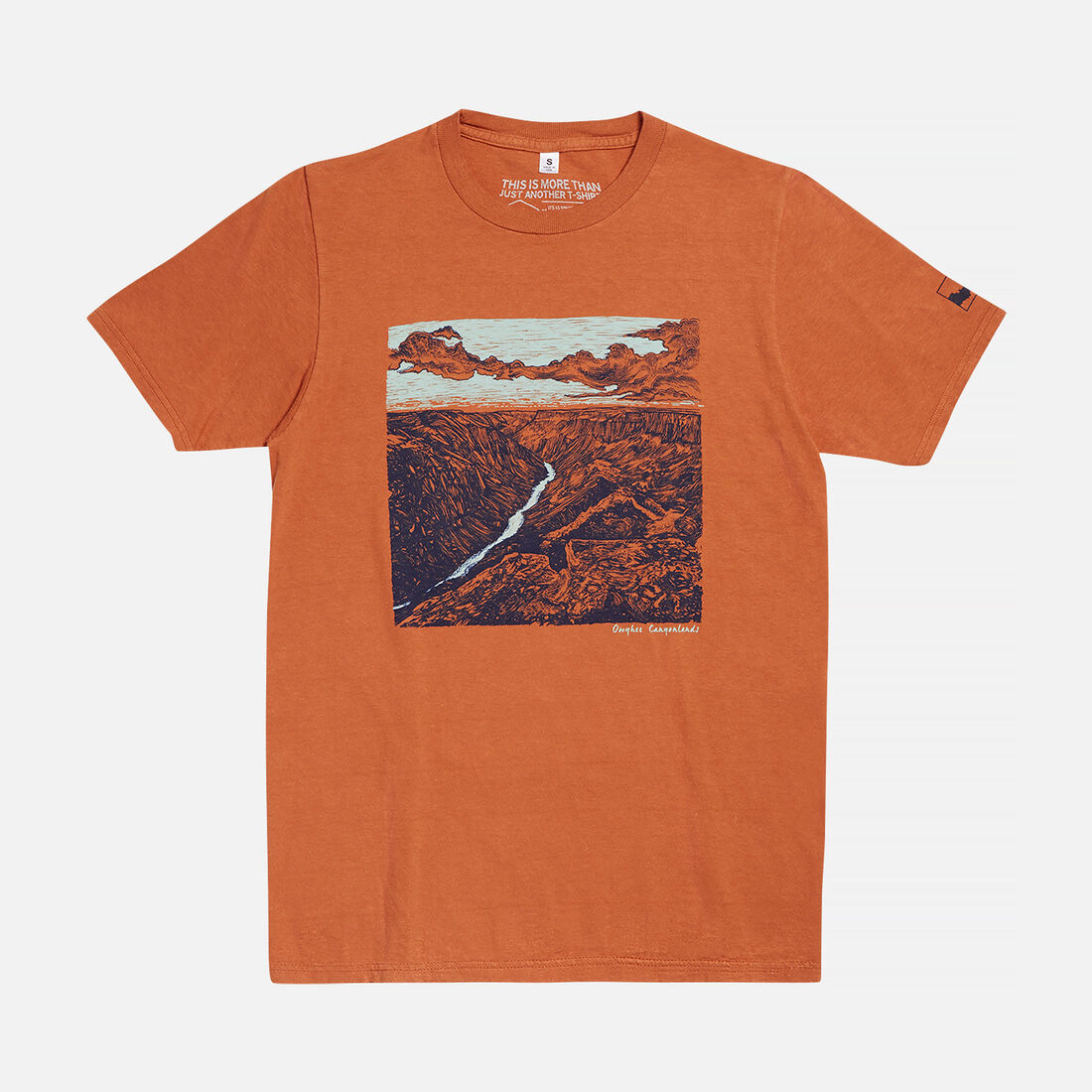 Men's Owyhee Canyonlands, OR T-Shirt in Nutmeg - large view.