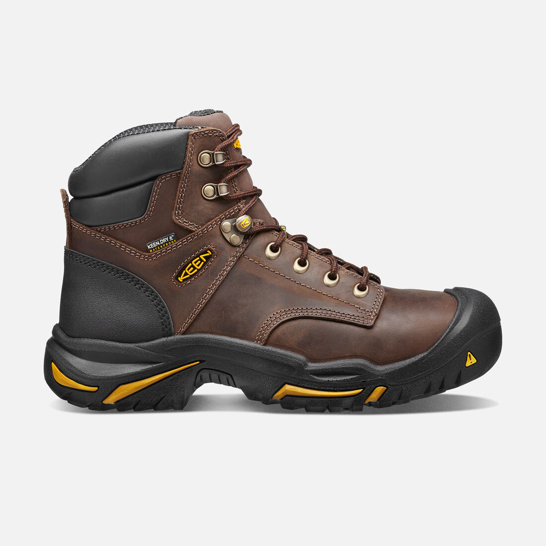 "Men's Mt Vernon 6"" (Steel Toe) in Cascade Brown - large view."