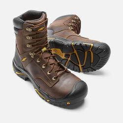 "Men's Mt Vernon 8"" (Steel Toe) in Cascade Brown - small view."