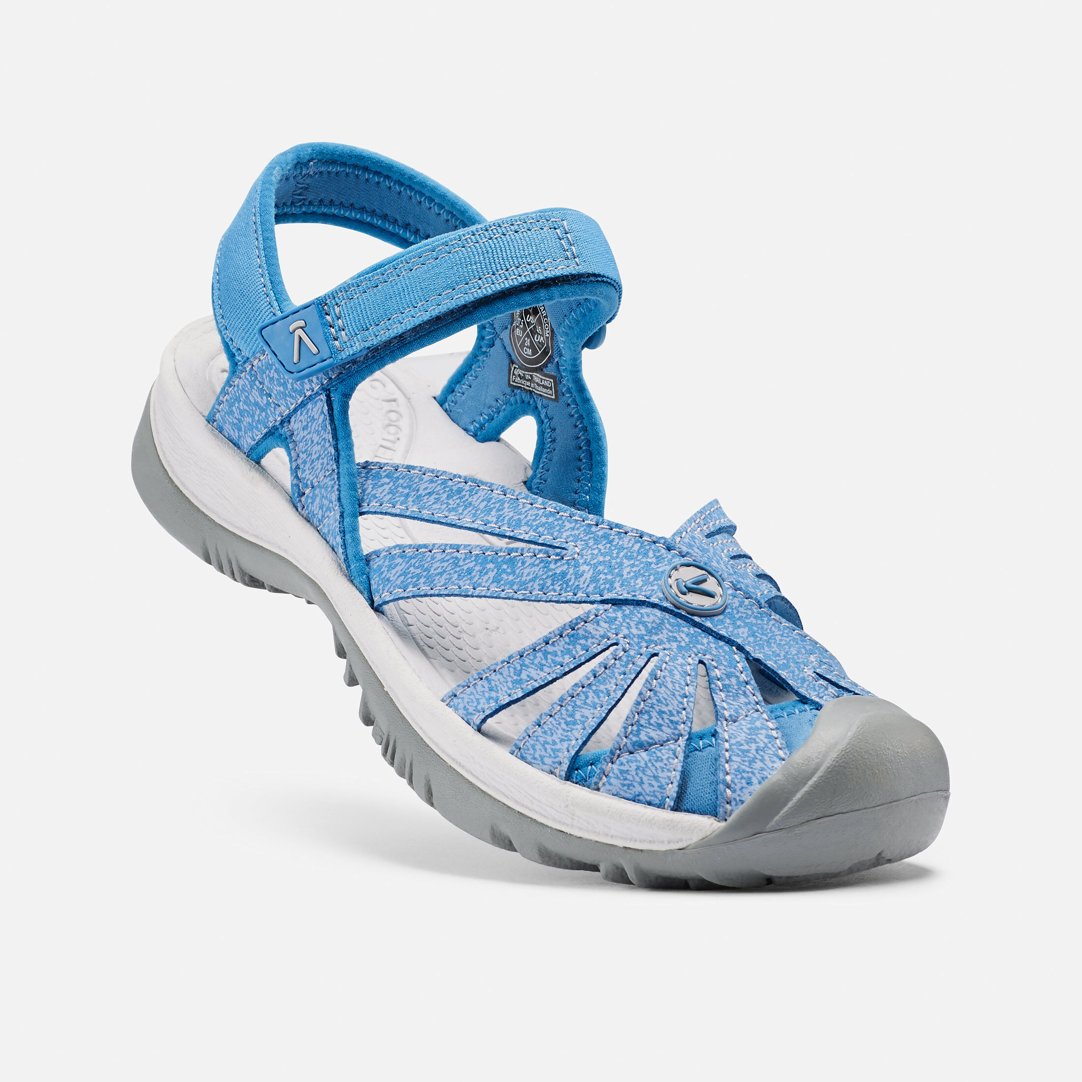 Women's Rose Sandal in Cendre BlueBlue Bell small view.