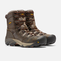 "Men's Detroit 8"" (Steel Toe) in Black Olive - small view."