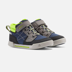 Little Kids' Encanto Wesley High Top in Dress Blues/Macaw - small view.