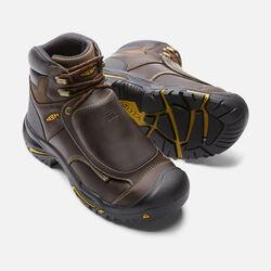 Men's MT VERNON MET (Steel Toe) in Cascade Brown - small view.
