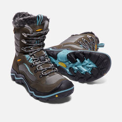 Women's Durand Polar Waterproof in Magnet/Mineral Blue - small view.
