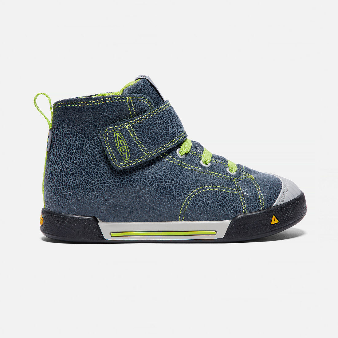 Little Kids' Encanto Scout High Top in Black/Macaw - large view.