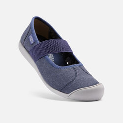 Women's Sienna Canvas Mary Jane in Crown Blue - small view.