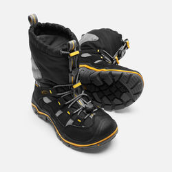 Little Kids' Winterport II Waterproof in Black/Gargoyle - small view.