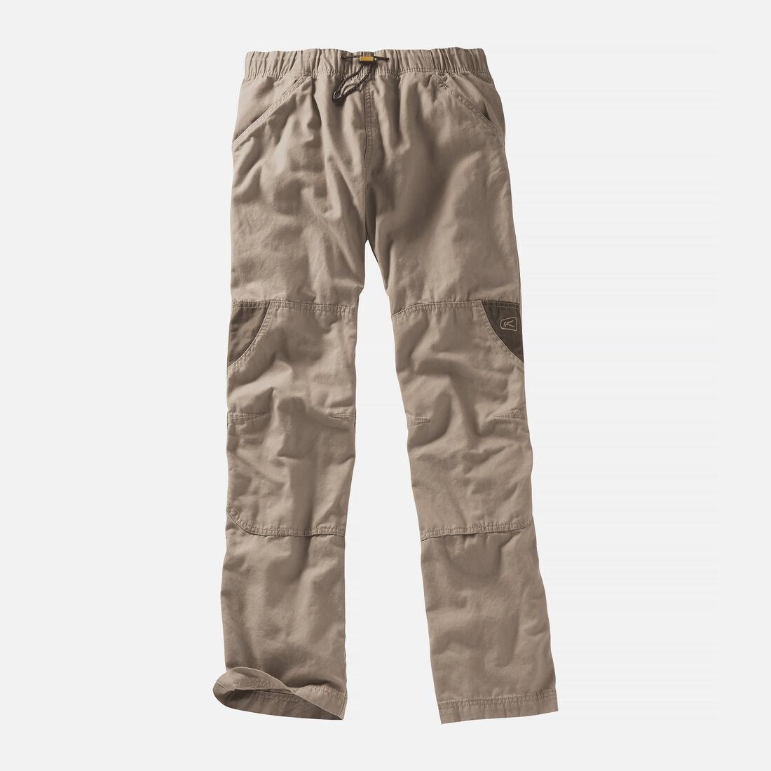 Men's Slacker Pant in Khaki/Olive Green - large view.