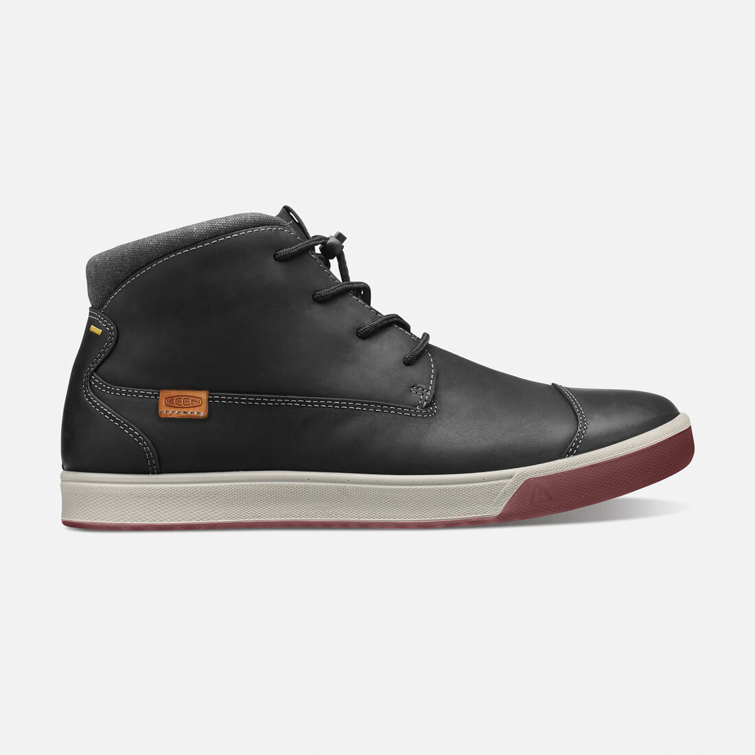 Men's Glenhaven Mid in Black - large view.