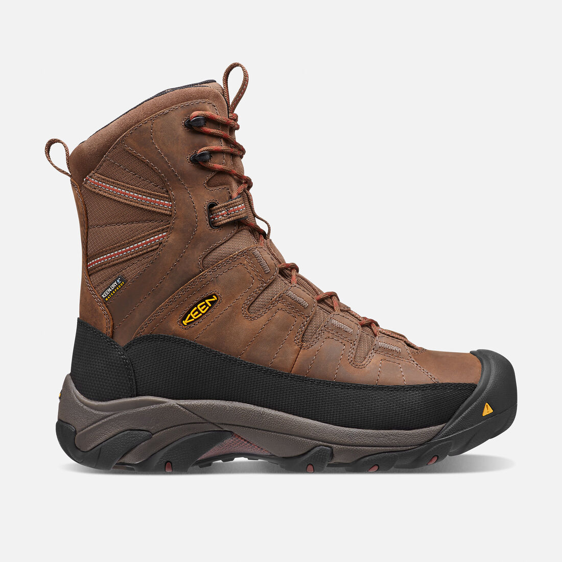 Men's Minot Insulated (Steel Toe) in Cascade Brown/Bossa Nova - large view.